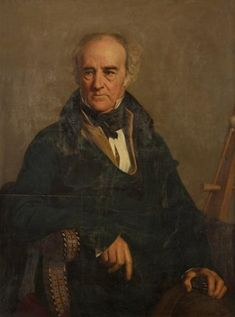 2/18- Birthday of Nicolas-Didier Boguet, French landscape painter, 1755-1839. Portrait by Guillaume Bodinier.