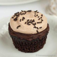 cook's illustrated Ultimate chocolate cupcake recipe