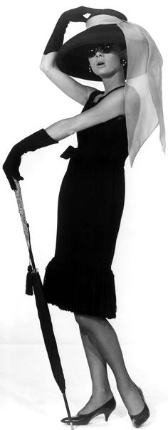 The Ultimate Little Black Dress. Audrey Hepburn - Breakfast at Tiffany's (Blake…