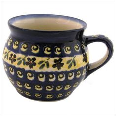 Polish pottery mugs |Pinned from PinTo for iPad|