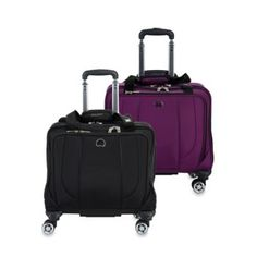 DELSEY Helium Cruise Carry-On Wheeled Tote Bag - www.BedBathandBeyond.com