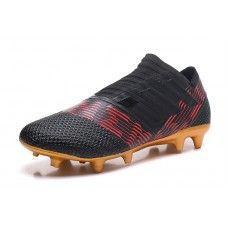 Adidas Nemeziz 17 360Agility - Jeftinije Kopačke 2018 Adidas Nemeziz 17 360  Agility FG Crvena Crno Zlato Shop f733d114319