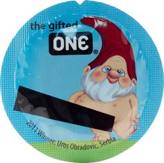 The gifted ONE, from our 2013 Universal Mix. Vote for your favorite user-submitted designs and decide which ones we'll see in the 2014 mix: http://onecondoms.com/design/designs/vote