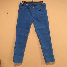 J Crew Skinny Jeans! Perfect for summer! These jeans are a pretty blue, size 27, toothpick style. Only worn 1x, basically brand new! J. Crew Jeans Skinny