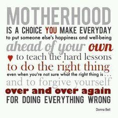 Motherhood motto