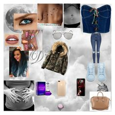 """""""meet with Jade"""" by nikoleta-nicky-malik ❤ liked on Polyvore featuring Moschino, SAM., Givenchy, Phillip Gavriel, mix-style, adidas, Topshop, Casetify and Yves Saint Laurent"""