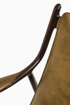 Finn Juhl easy chairs model NV-45 by Niels Vodder at Studio Schalling