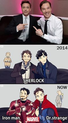 Sherlock's Come Such a Long Way!