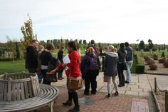 This is a photo from our visit to the National Memorial Arboretum as part of the week long residential