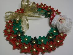 Hand Knitting Women's Sweaters Mary Christmas, Christmas Art, Christmas Projects, Christmas Ornaments, Xmas Wreaths, Christmas Decorations To Make, Holiday Crafts, Holiday Decor, Recycled Paper Crafts
