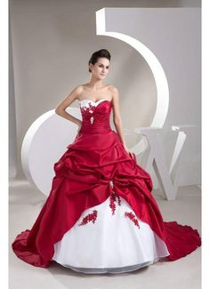 red wedding dresses | Buy Red And White Wedding Dresses UK Online | Joybuy.co.uk - page 1