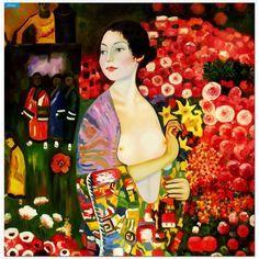 Gustav Klimt - The Dancer Art Nouveau