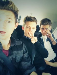 Ricky,Troye,and Connor