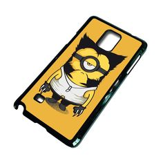 WOLVERINE MINION Samsung Galaxy Note 4 Case – favocase Galaxy S3 Cases, Galaxy Note 4 Case, Samsung Galaxy S3, 6s Plus Case, Iphone 6 Plus Case, 6 Case, Wolverine, Minions, Phone Cases