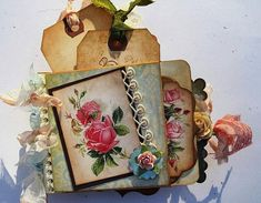 Shabby Chic Victorian Roses Digital collage by shabbybeautiful