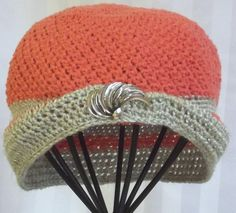 Womans Crochet Hat   Handmade Beanie  Vintage Style by SophiesHats, $35.00 #handmadeC #thisartofmineUS @
