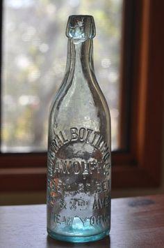 Central Bottling Co. Antique Bottle