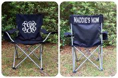 Custom Folding Chair Monogrammed Chair Camp Chair Groomsman gifts Wedding gifts Coaches chair Game Day Chairs - Camping Chair - Ideas of Camping Chair - Monogrammed Folding Chair Softball Baseball Soccer Mom Personalized Chair by on Etsy Softball Mom, Baseball Mom, Football, Baseball Chair, Team Mom, Camping Chairs, Sports Mom, Groomsman Gifts, Folding Chairs