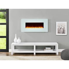 Altra Kenna 35-inch Wall Mount Fireplace