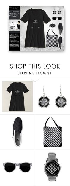 """Zazzle Minimalist Tendency"" by elena-indolfi ❤ liked on Polyvore featuring Chanel, blackandwhite, LittleBlackDress, Minimaliststyle, zazzle and elenaindolfi"