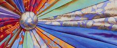 Brittney Tough, Watercolour on Paper, Button Burst #watercolor #watercolour #watercolorartist #watercolourartist #watercolorpainting #watercolourpainting #canadianartist #artist #colour #contemporarywatercolour #contemporaryrealism #interiordesign #interiordecor #design #decor #patchworkquilt #fabric #quilting #quilt #pattern