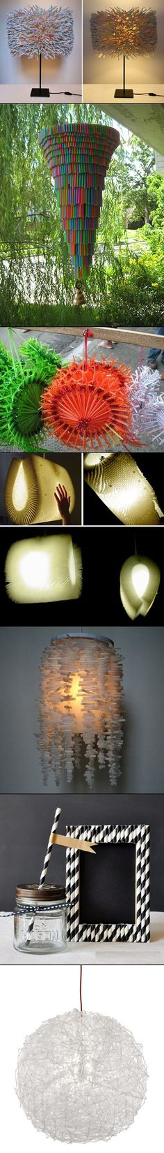 4  decoration with plastic strawsbb737c15b | DIY