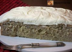 If you'd like to know how to make Crazy Banana Cake with Cream Cheese Frosting, you are going to love this easy and delicious recipe.