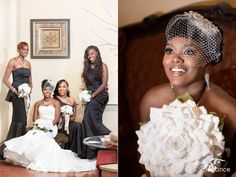 Stunning wedding photography by Photo Elegance at Barnett on Washington.
