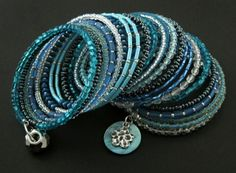 bransoletki - szkło-memory - chilly Pandora, Memories, Bracelets, Wire, Jewelry, Memoirs, Souvenirs, Jewlery, Bijoux