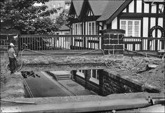 Old Pub, Has Gone, Chester, Railroad Tracks, Deck, Outdoor Decor, Front Porches, Decks, Decoration
