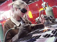 The basics of welding. A good overview for you if you are considering welding as a hobby or career.