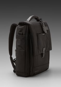 TUMI Convertible Laptop Brief in Black