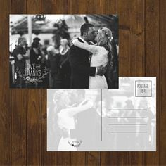 Glitter Wedding Thank You Cards