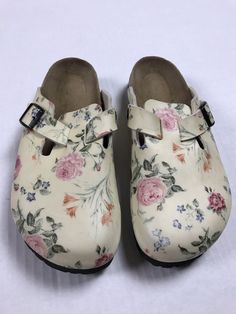 e9b70fabb553 ...  accessories  womensshoes  sandals (ebay link). See more. birkenstock  Clogs Rosebuds Roses EUC papillio 40 US 9  fashion  clothing  shoes