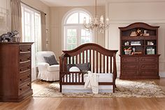 Davenport Toddler Bed Collection in Coco Finish