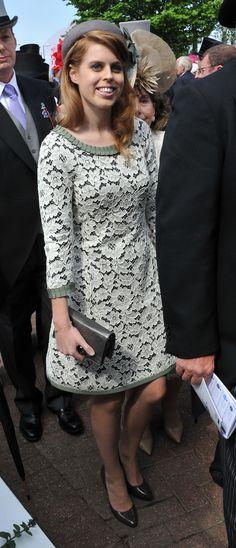 Princess Beatrice in Moschino