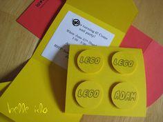 Belle Isla: 33. lego party invitations