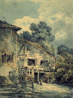 Joseph Mallord William Turner The old Water Mill, 1794 Joseph Mallord William Turner est un peintre, aquarelliste et graveur britannique, né le 23 avril 1775 à Londres et mort le 19 décembre 1851 (à 76 ans) à Chelsea