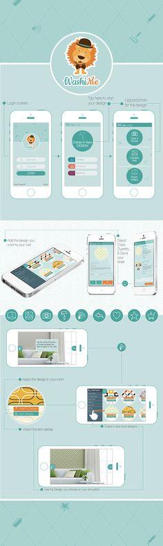 Application for a home decor & wallpaper design