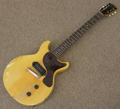 Gibson Les Paul Jr. Nearly as nice as the single pick-up guitar I made myself.