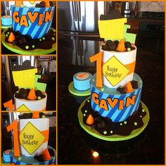Construction Cake | Flickr - Photo Sharing!