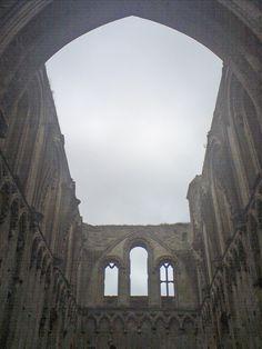 The Glastonbury Abbey, England