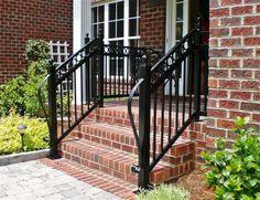 Decorative Step Rail with rings and long lamb Tongue