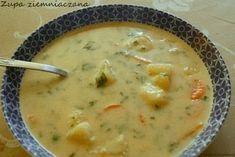 Zupa od dawna jest u nas w rodzinie. Przepis znalazłam kiedyś na liście pl.rec.kuchnia. Składniki: 1 kg ziemniaków 4 marchewki 1 cebula ...