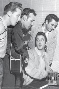 Elvis Presley, Carl Perkins, Jerry Lee Lewis, Johnny Cash - (Million Dollar Quartet)