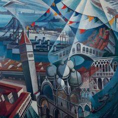 Gerardo Dottori - Venezia festa (1932)
