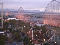 go on the longest steel roller coaster in the world...steel dragon 2000...to-do
