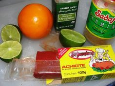 Achiote chicken Mexican Cooking, Mexican Food Recipes, Achiote Paste Recipe, Achiote Chicken, Endive Recipes, Jucing Recipes, Mackerel Recipes, Tagine Recipes, Pork Chops