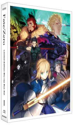 Fate/Zero Blu-ray Box Set 1 (Hyb) Limited Edition  #RightStuf2014