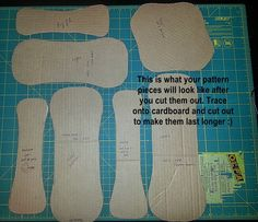 This tutorial and pattern is for a thin reusable menstrual pad. There are three different sizes, a long pad for a heavy flow, a medium pa...